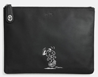 Coach X Peanuts large folio-black
