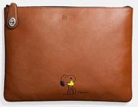 Coach X Peanuts large folio-brown