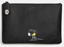 Coach X Peanuts medium folio-black