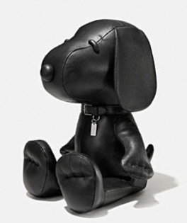 Coach X Peanuts Medium leather snoopy doll