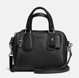 Coach X Peanuts mini surrey satchel-black