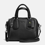 Coach X Peanuts mini surrey satchel-black