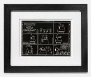 Coach X Peanuts rare wall art