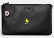 Coach X Peanuts small folio-black