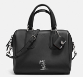 Coach X Peanuts Surrey Satchel-black