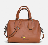 Coach X Peanuts Surrey Satchel-brown