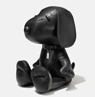 Coach X Peanuts XL leather snoopy doll