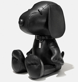 Coach X Peanuts XXL leather snoopy doll