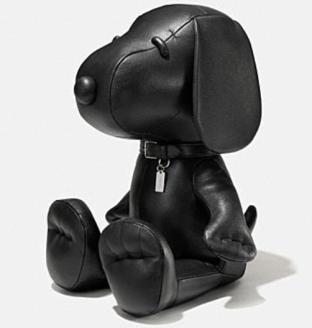 Coach X Peanuts XXL leather snoopy doll